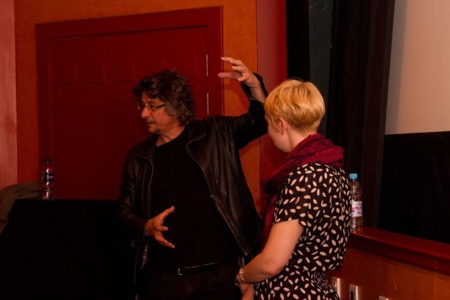 Philippe Grandrieux at White Epilepsy Q&A. Photography by Shona Wass, courtesy of EIFF.